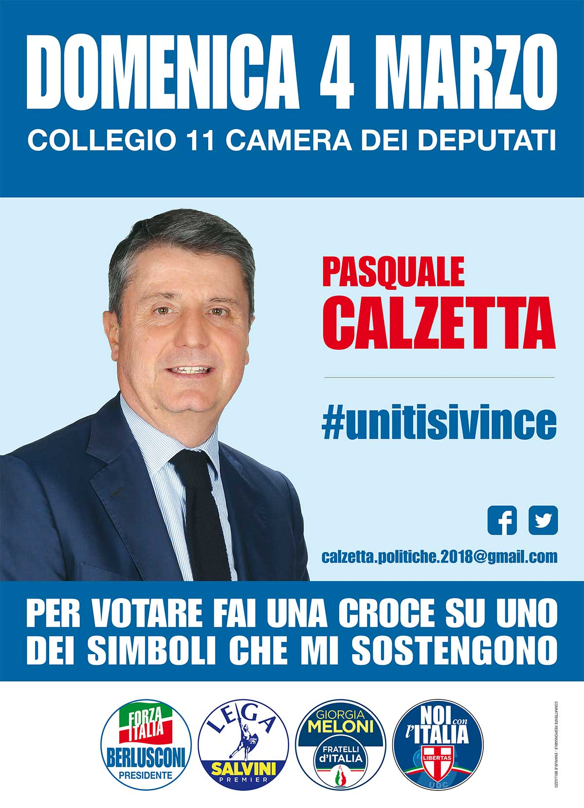 Collegio 11 roma pasquale calzetta candidato camera dei for Camera dei deputati sito ufficiale